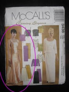 "McCall's ""Evening Elegance"" 3436"