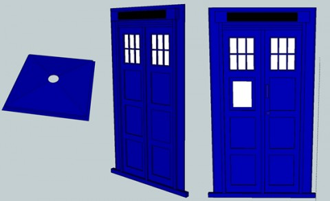 Tardis Faces