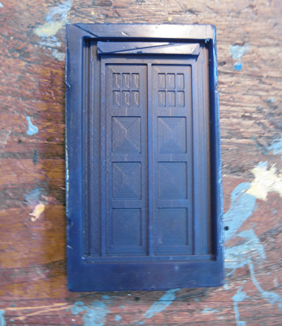 Tardis Wax Mold
