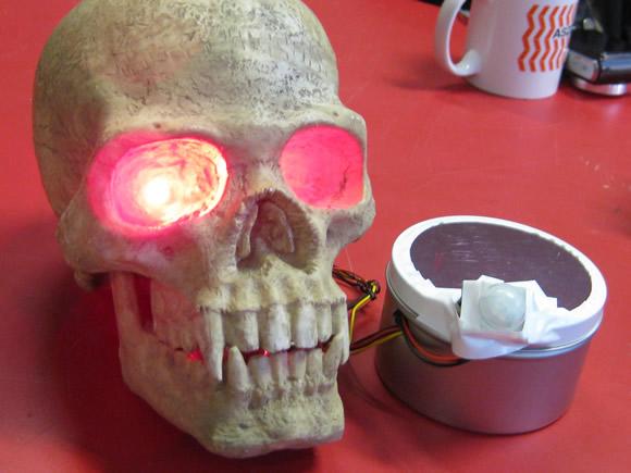 Voodoo Glow Skull