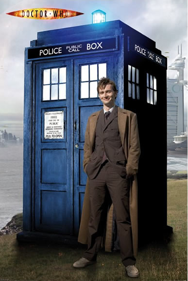 The 10th Doctor and His Tardis