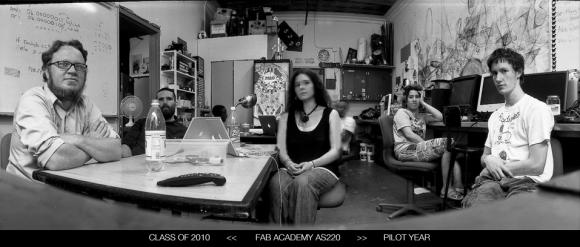 Fab Academy Class of 2010 AS220  - Pilot Year